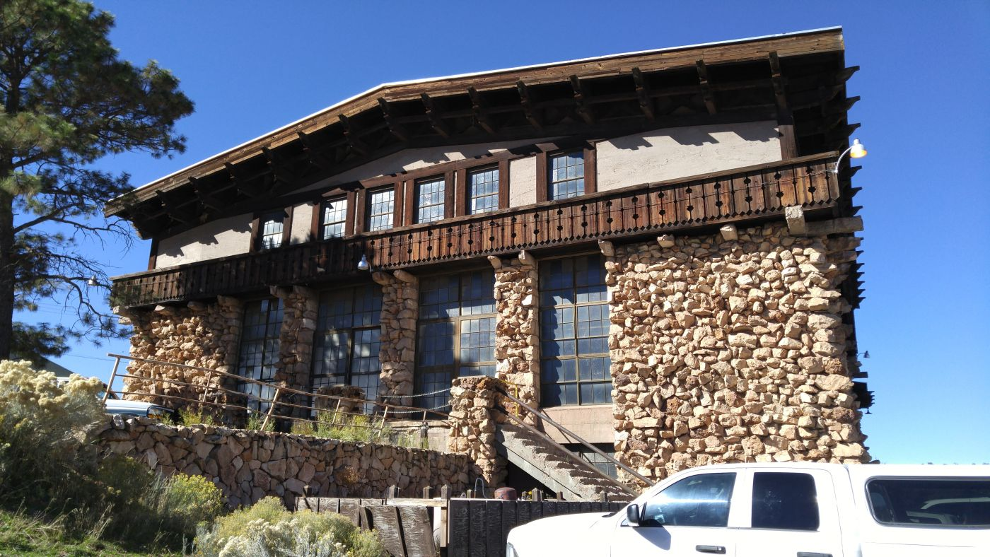 Stone building Grand Canyon