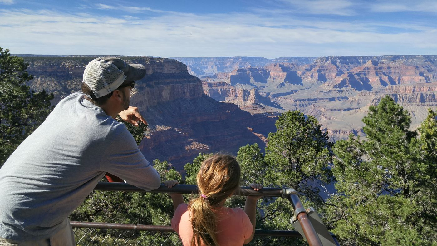 Hermits Rest Lookout Grand Canyon