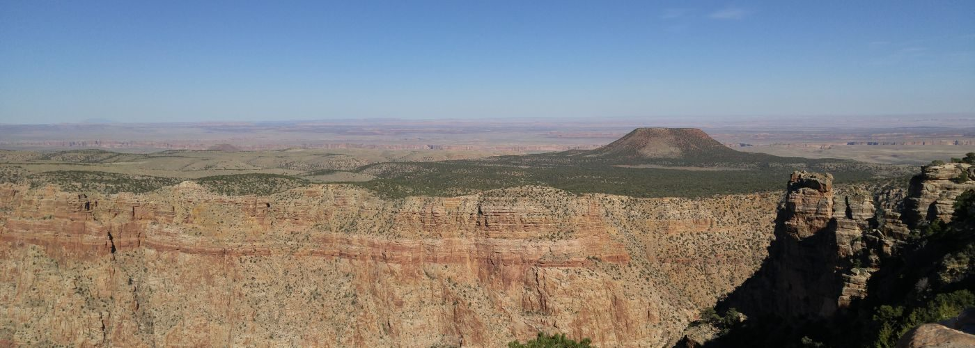Painted Desert from Desert View Grand Canyon