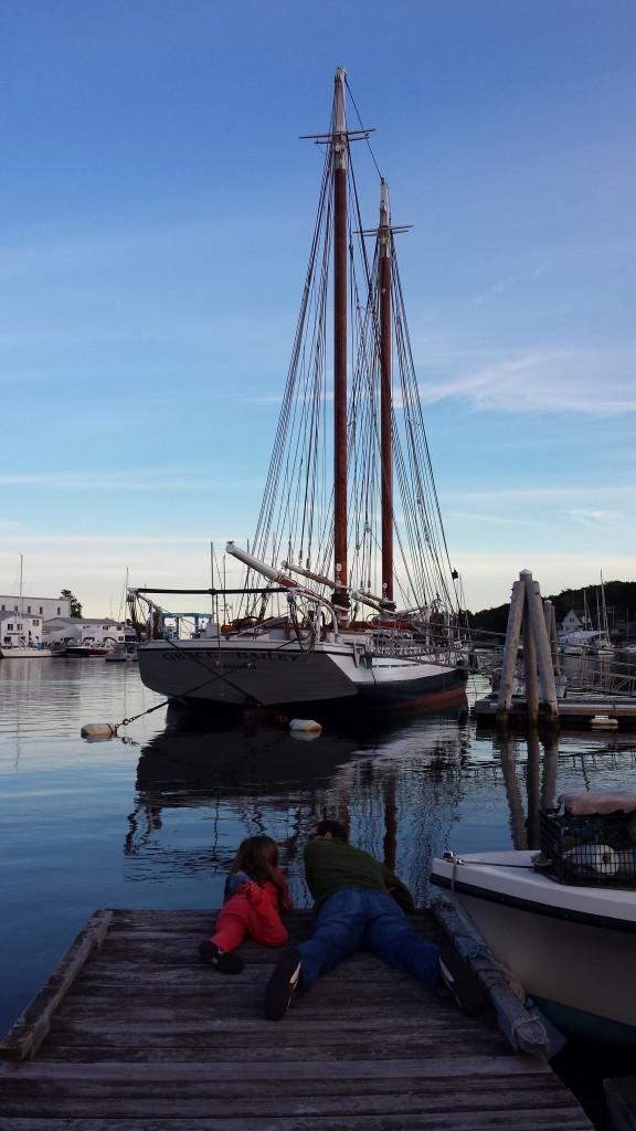 Part of the Windjammer Fleet, the Grace Bailey.