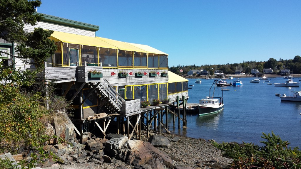 Thurston's Lobster Pound near Bass Harbor.
