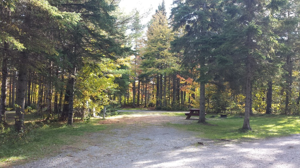 Moosehead Family Campground Site.