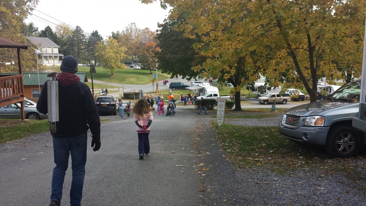 Trick-or-Treating Begins at Hersheypark Camping Resort.