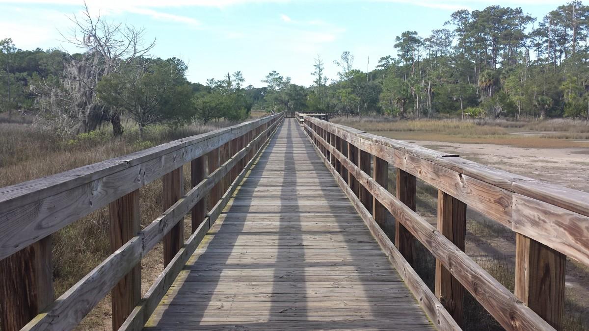 trail walk skidaway
