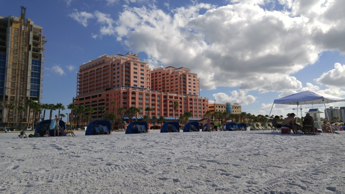 The Hilton at Clearwater Beach.
