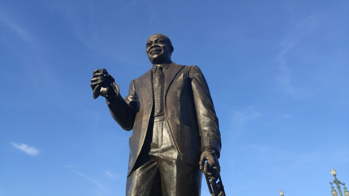 "My Man, Louis (""Lewis"") Armstrong."