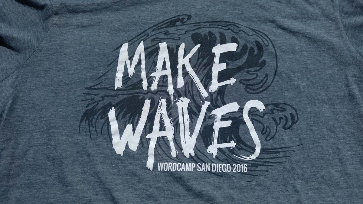WordCamp San Diego 2016 Make Waves