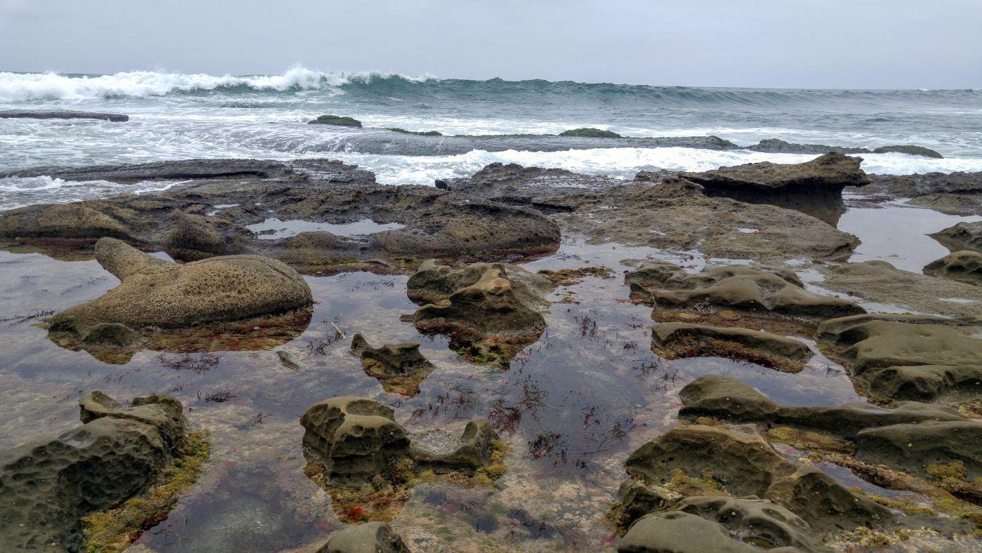 la jolla tide pool waves