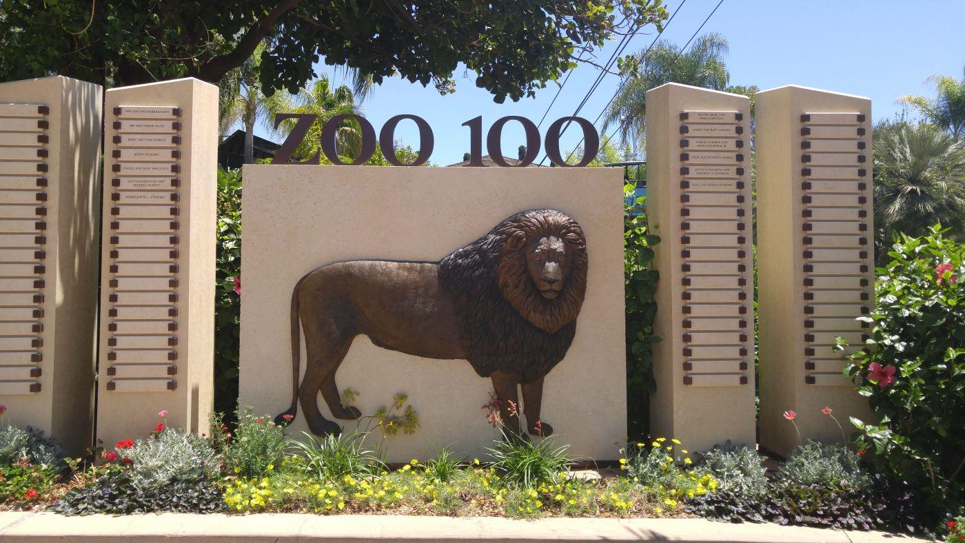 San Diego Zoo 100