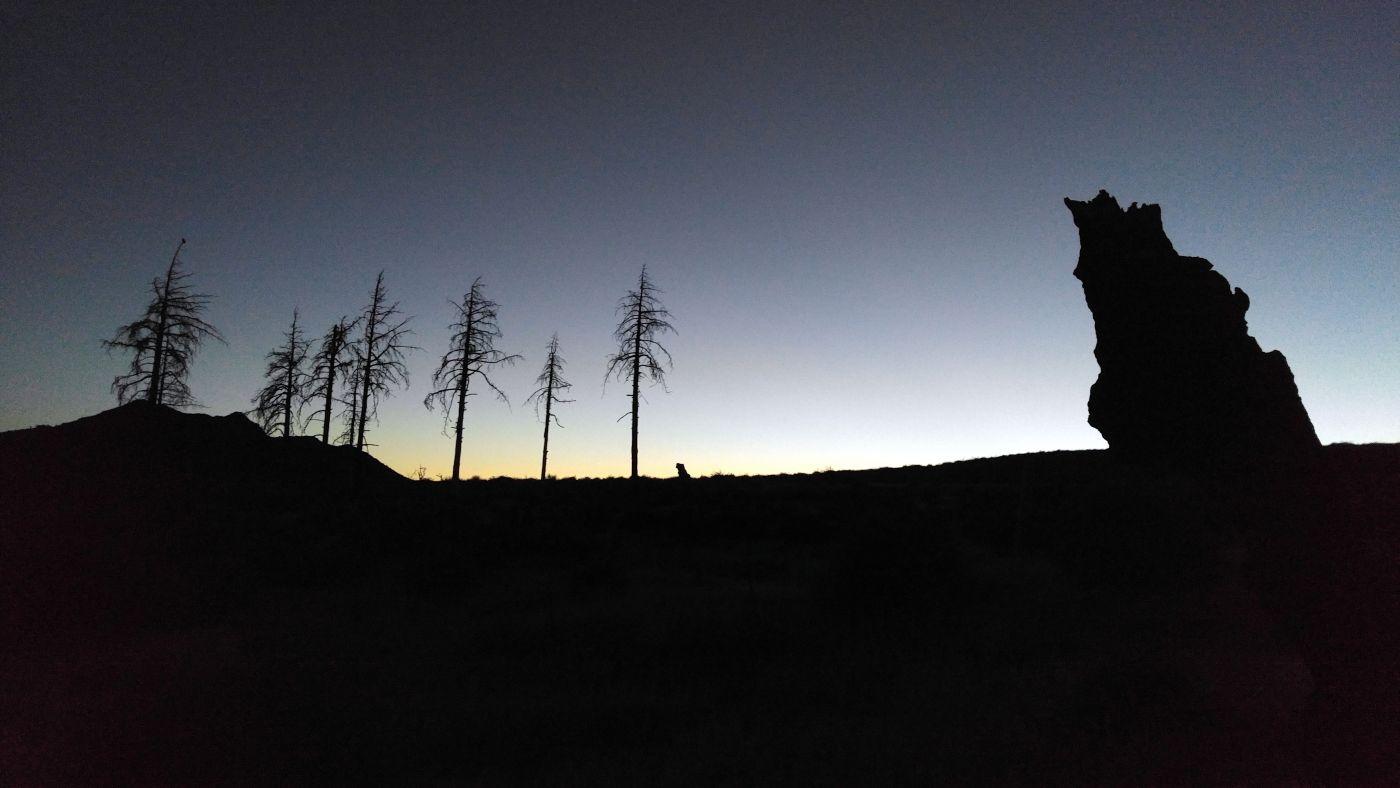 Hike to Garnet Peak Trailhead