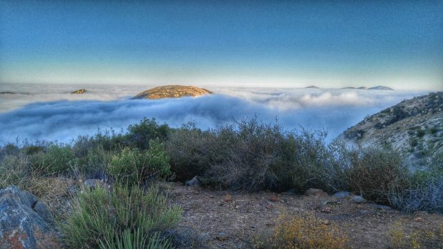 Hiking El Cajon Mountain Trail