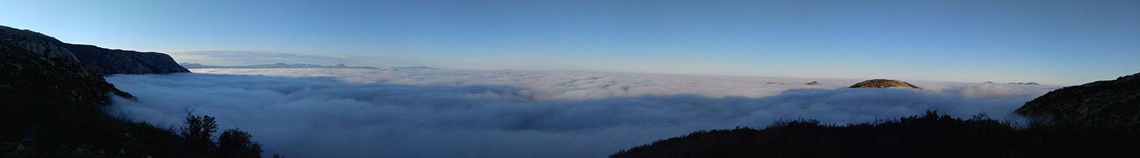 Hiking El Cajon Mountain View