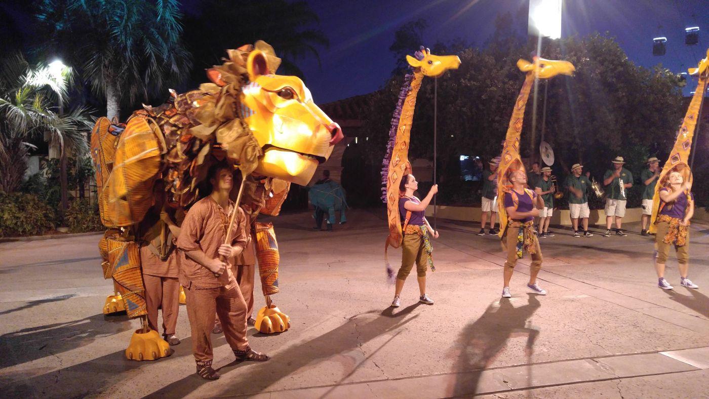 San Diego Zoo Parade