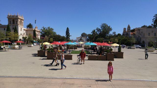 Balboa Park Umbrellas