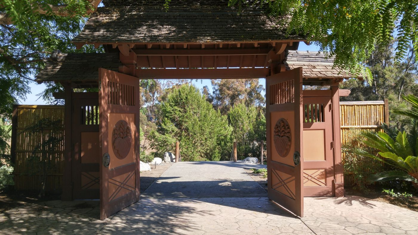 Japanese Tea Garden, Gate