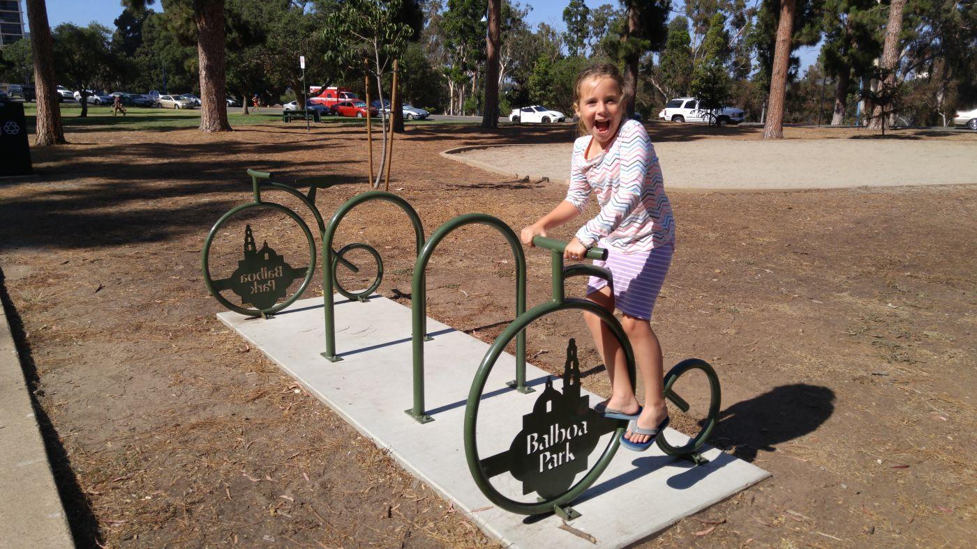 Balboa Park Bike Rack