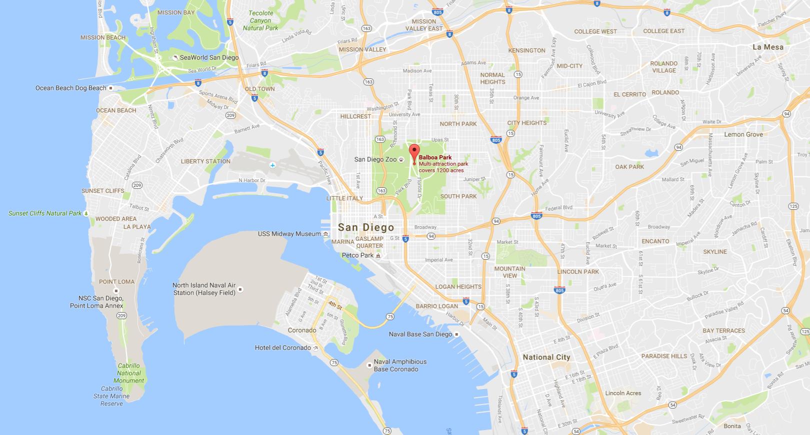 Balboa Park Google Snap