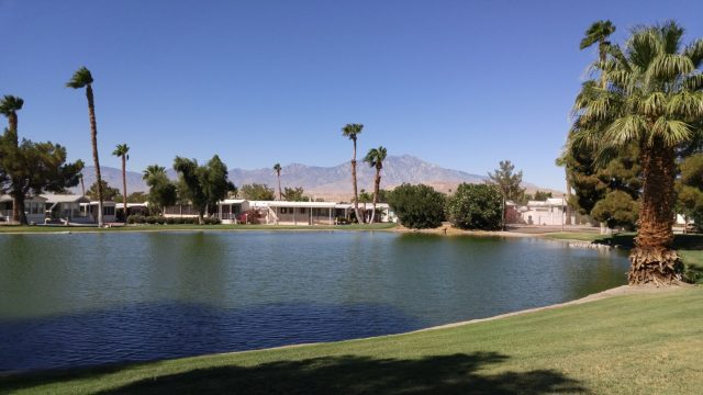 Sky Valley Resort CA Pond