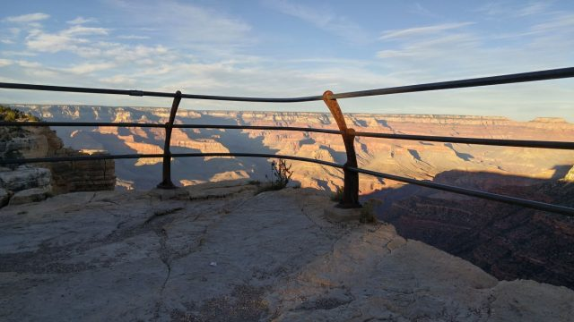 Grand Canyon railing