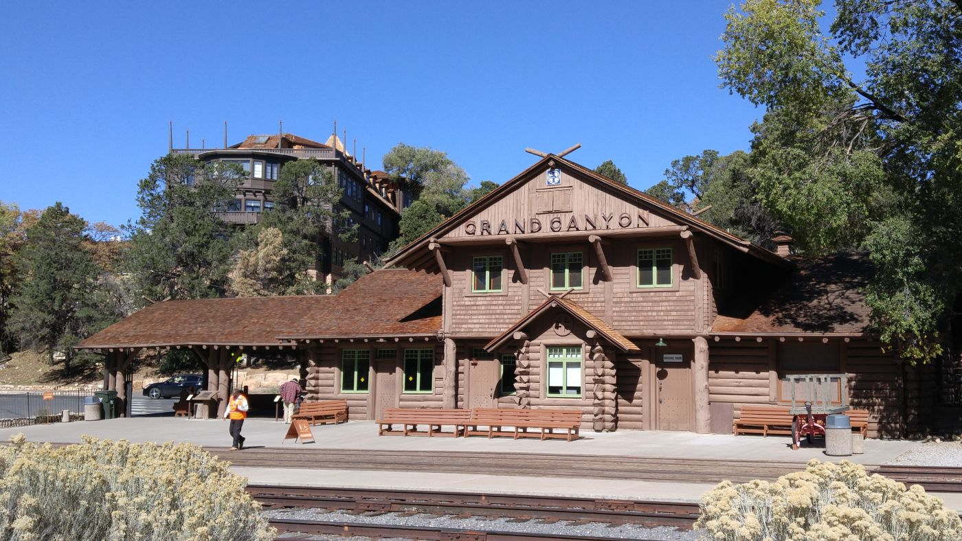 Train Depot Grand Canyon
