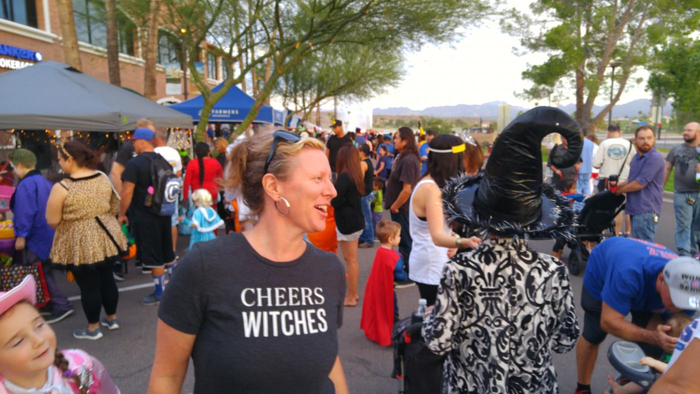 Halloween on the Hill Fountain Hills Fountain Cheers