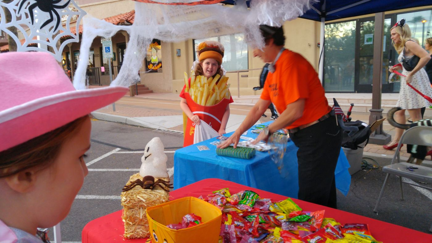 Halloween on the Hill Fountain Hills Fountain Fries