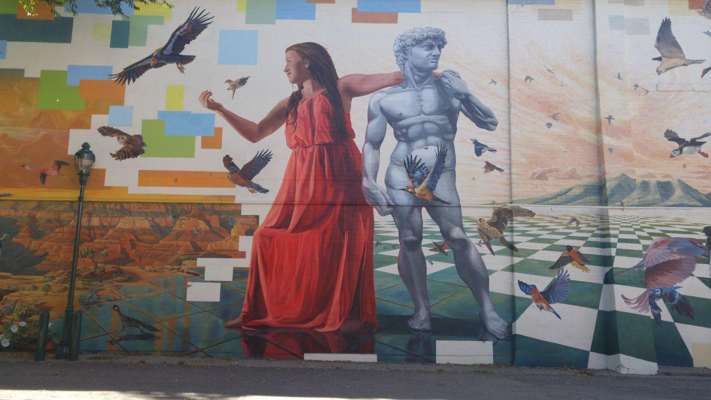 mural Flagstaff