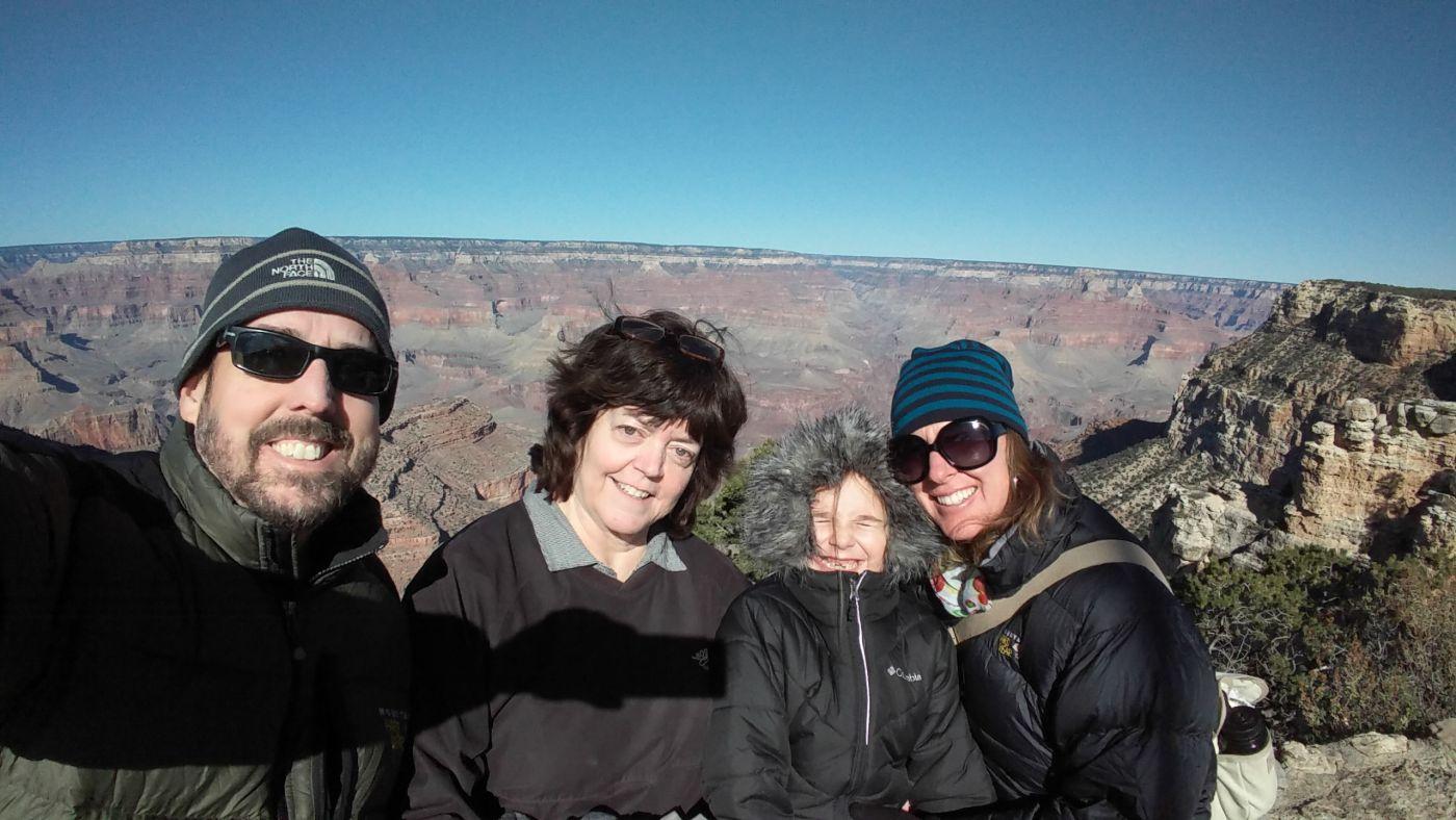 Rumery family Grand Canyon