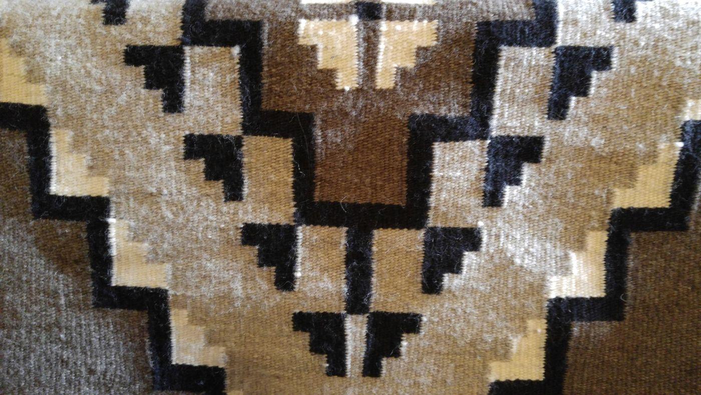 Navajo rug Hopi House Grand Canyon