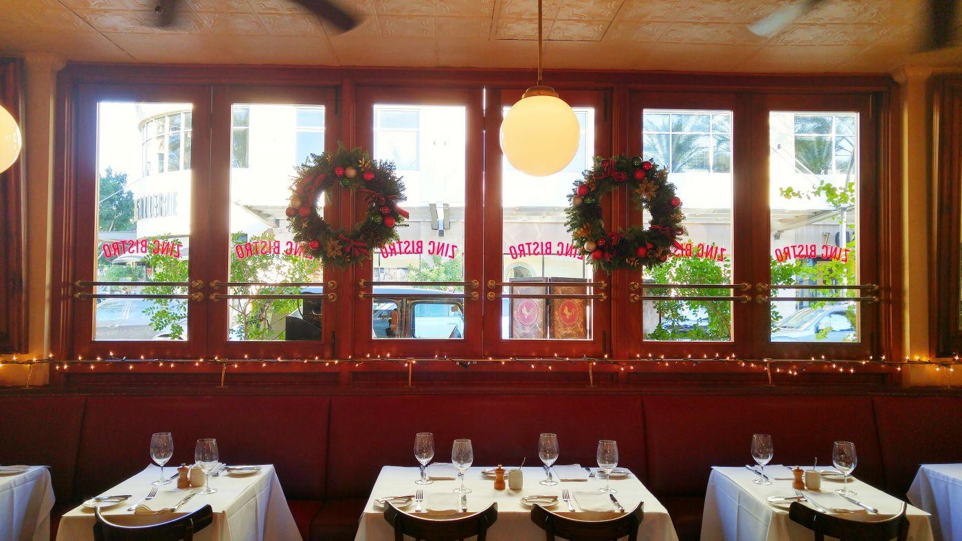 Zinc Bistro Scottsdale Christmas