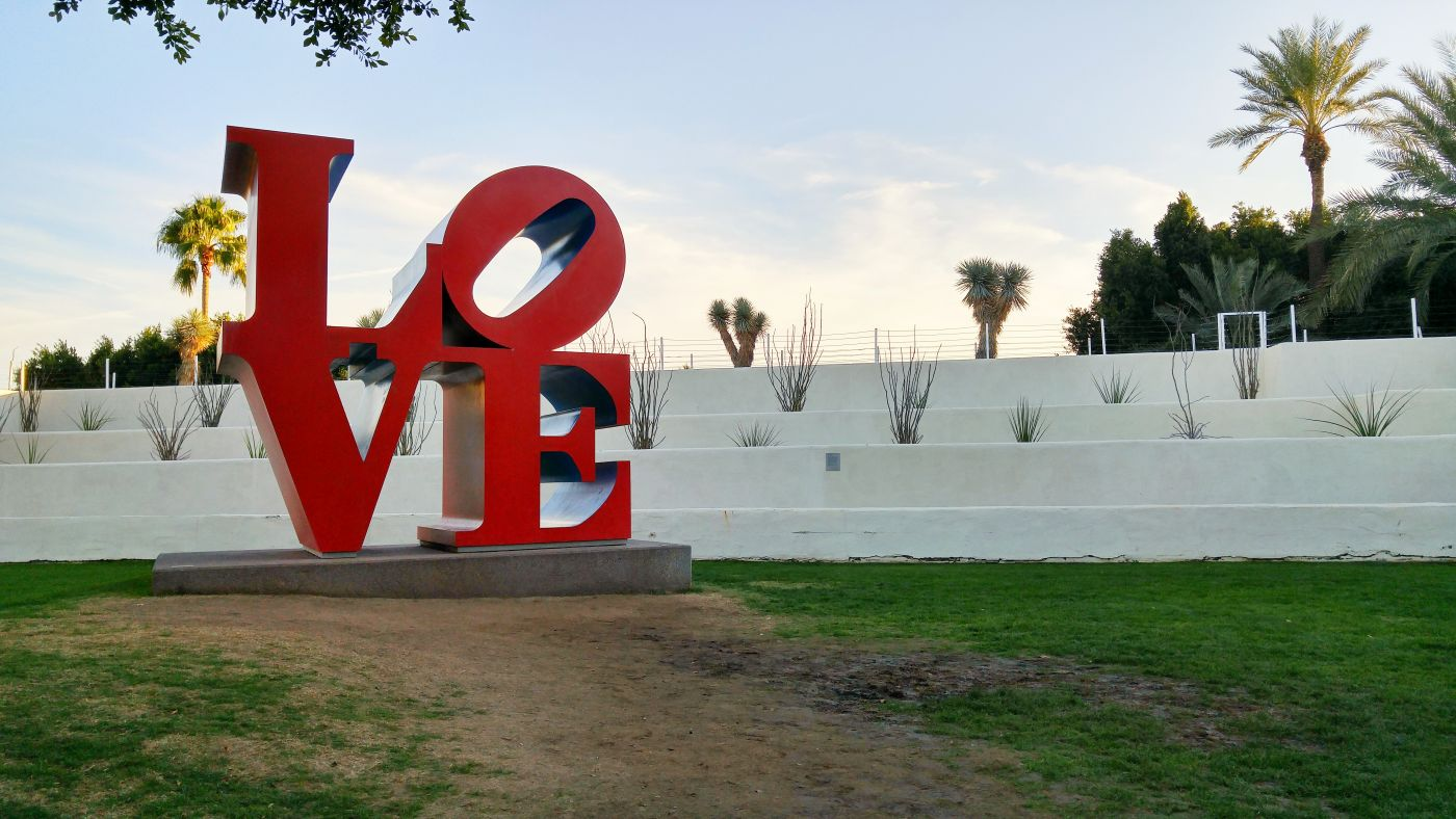 Love Sculpture Scottsdale