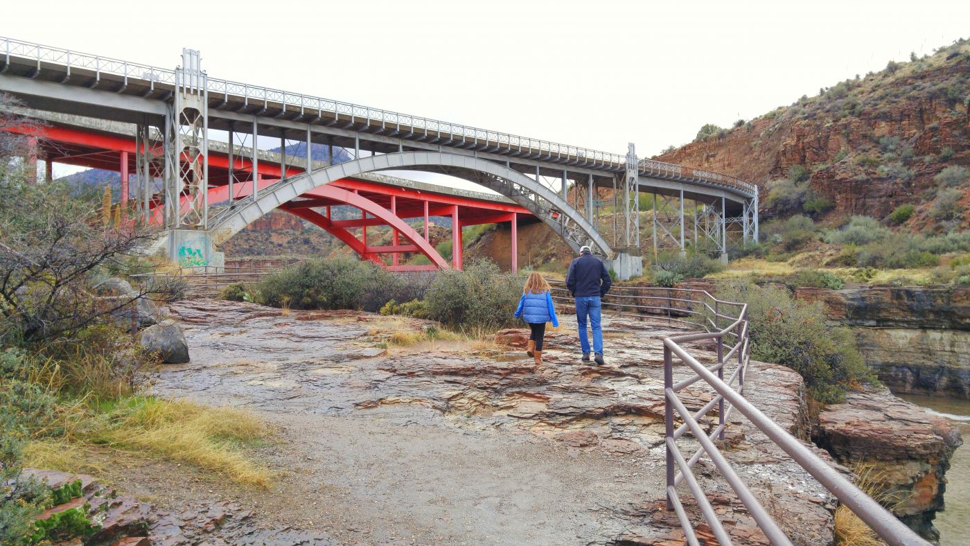 Bridge Salt River Canyon AZ