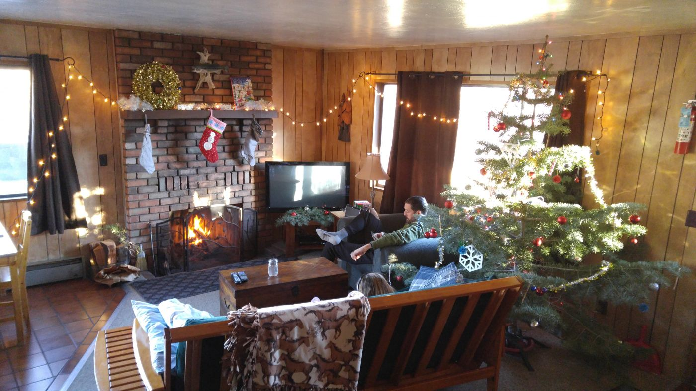 Antler Ridge Cabin AZ Christmas