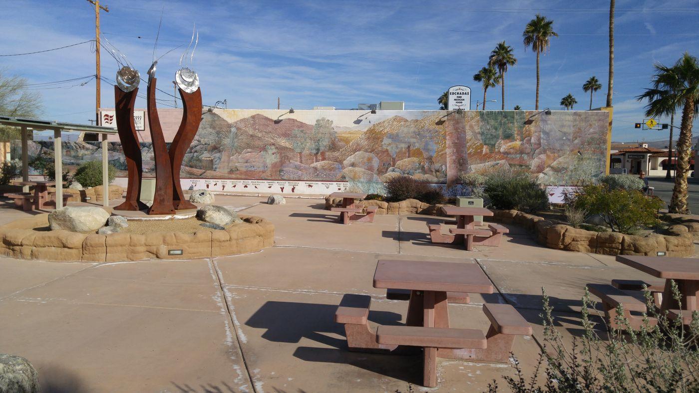 mural Twentynine Palms CA