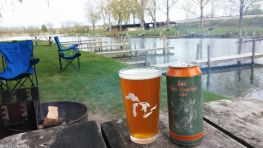 Michigan Beer Camping Manistee, MI
